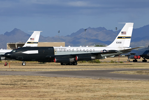 "55-3132 NKC-135E ""Big Crow I"" - Aerospace Maintenance and Regeneration Group (AMARG) - Davis-Monthan AFB, AZ"