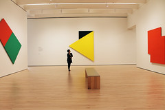 Ellsworth Kelly (gingerycat) Tags: painting photography shapes color gallary