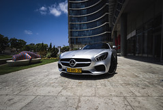 Mercedes AMG GT-S (Eitanix) Tags: mercedes amg gts israel cars matte silver