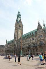 Ratusz (magro_kr) Tags: hamburg niemcy germany deutschland ratusz budynek architektura plac townhall building architecture square