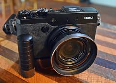 Fuji Film X30 (Jo Zimny) Tags: camera black seahorse quality walnut well made pointandshoot accessories brass additions odc reinforced handgrip softbutton fujifilmx30