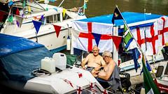Bristol Harbour Festival 2016 (pixelhut) Tags: bristol uk england southwest city urban harbourfestival harbourside boat stgeorge flag summertime shirtsoff