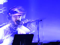 (kristen mckeithan) Tags: eaux claires 2016 eauxclaireswi music festival eau claire wisconsin august 12th nightfall night dark justin vernon bon iver 22 million ghost drift