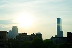 Boston in the Sun (egar_tx) Tags: sony a7ii sonya7ii newengland boston skyline