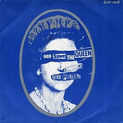 Sex Pistols - God Save The Queen (1977) (stillunusual) Tags: sexpistols godsavethequeen single vinyl sleeve artwork picturesleeve punk punkrock newwave aside glitterbest queen queenelizabeth silverjubilee england uk 1970s 1977