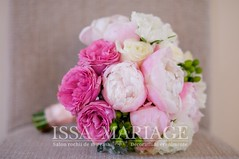 buchet nasa cu bujori (IssaEvents) Tags: buchet de mireasa din bujori roz issaevents issamariage bucuresti valcea slatina