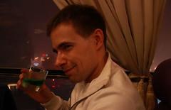 Green drink? It tasted nice! (BenValjean) Tags: echo canon eos 500d eos500d dslr benjamingoodacre bengoodacre goodacrephotography summer  travel china  asia  orient yantai    hunks