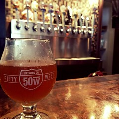The @fiftywestbrew Fuzzy Feeling is an awesome #OHBeer #CraftBeer #Cincy #Beer w/ #Peach & #Apricot #Kudos (BitesnBuzz) Tags: ohbeer kudos cincy apricot craftbeer peach beer
