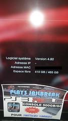 20160802_074634 (play3jailbreak) Tags: play3 jailbreak achat acheter commander ps3 slim 500gb dex rebug 475 manette matthieu carrieuenvoi france mondial relay