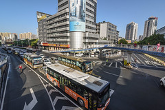 45023-002 PRC: Hubei-Yichang Sustainable Urban Transport Project (Asian Development Bank) Tags: china prc peoplesrepublicofchina automobiles bus rushhour traffic transporation transport yichangcity hubei chn