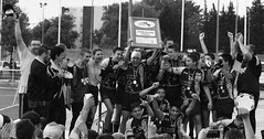 (chloe.dayde) Tags: olympus e300 avignon blackandwhite rugby xiii winner champions de france minimes lescure minotaures