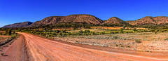 Gammon Ranges Rd, South Australia - On the road from Copley to Arkaroola. (Ardash Muradian) Tags: southaustralia bluesky dirtroad gammonranges hills landscape outback