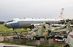 CCCP-42391 & OK-NDF Tupolev Tu-104 @ Zruc Air Park 8th June 2015 (_Illusion450_) Tags: zrucairpark zruc museum zrucaviationmuseum 080615 pilsen czechrepublic airparkzruc tarantik cccp42391 okndf tu104 tupolev csaczechoslovakianairlines