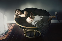 Day 3548 (evaxebra) Tags: nightmare dream scary creepy zombie hand pregnant pregnancy maternity nap sleep papasan halloween october octoberphotochallenge opc2016 opc 33daysofhalloween 33days 365days evaxebra
