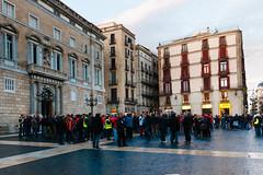 Barcelona (Roger Hanuk) Tags: barcelona demonstrating placadesantjuame protesting spain catalonia