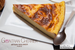 Slice of flan (thewanderingeater) Tags: gontrancherrier patisserie boulangerie bakery ruecaulaincourt montmartre
