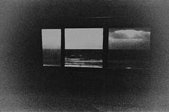 (William Keckler) Tags: film 35mm analog grain grainy texture ocean sea atlantic bw blackandwhite lomography lomo