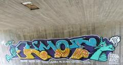 KMot (neppanen) Tags: sampen discounterintelligence helsinki suomi finland helsinginkilometritehdas mustavuori piv71 reitti71 pivno71 reittino71 kmot graffiti streetart alikulku tunneli tunel alikulkutunneli underpass itvyl manu tramp elvis ruik kesoil