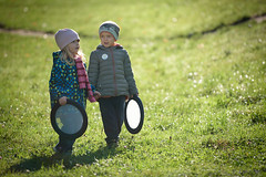 young couple (dziurek) Tags: d750 nikon dziurek dziurman pdziurman fx young couple nikkor 70200 boy girl meadow lawn autumn cute love kid child children sun light