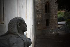 sorriso di sfinge (Camillo diB ()) Tags: sculture sfinge donnafugata ragusa italia castello