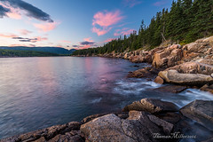 Otter Cove (the SkyHum) Tags: landscape shore coast acadianationalpark dusk water rocks sky clouds ottercove travel newengland maine