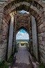 View through the drawbridge (21mapple) Tags: drawbridge beeston beestoncastle castle ruins medieval relics landscape view england englishheritage english heritage
