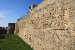 Impressive wall (lorenzhome) Tags: wall castle otranto puglia italy italien apulien