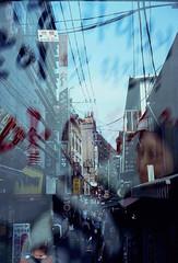 seoul59 (samica jones) Tags: seoul korea chaos mysterious life death atmosphere voigtlander double exposure urban obscure bessa r cinestill 800t experiment