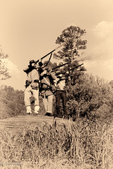 Fire! (dngovoni) Tags: blackandwhite civilwar kentucky reenactment riflefire prestonsburg unitedstates us