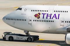 Thai Airways - Boeing 747-400 - HS-TGA (domi26495) Tags: thai airways boeing 747400 hstga jumbo 747 muc eddm mnchen munich airport