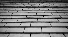 Tiles (Anas Lecointre) Tags: tiles tuiles lighthouse phare mur wall black white noir blanc blackandwhite whiteandblack noiretblanc blancetnoir monochrome nikon nikond5100 bruce peninsula brucepeninsula ontario canada abstract