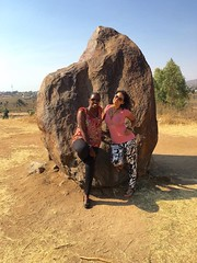 """First time for my Burundian friend to visit this place 😊 The Livingstone–Stanley Monument at Mugere where Dr Livingstone and Stanley met 1871 when he said the famous words """"Dr Livingstone, I presume?"""". Burundi  August 2016 #itravelanddance • <a style=""""font-size:0.8em;"""" href=""""http://www.flickr.com/photos/147943715@N05/30493113995/"""" target=""""_blank"""">View on Flickr</a>"""