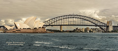 Opera House and Harbor Bridge, Sydney, New South Wales, Australia (D200-PAUL -- Off for the Weekend) Tags: sydney australia circularquay unescoworldheritagesite unesco worldheritagesite newsouthwales jornutzon sydneyharbor royalbotanicgardens sydneyoperahouse jørnutzon mrsmacquariespoint sydneyharborbridge mrsmacquarie sydneytheatrecompany macquariespoint operahousesydney operaaustralia sydneysymphonyorchestra josephcahill theaustralianballet utzonjørn utzonjorn cahilljoseph