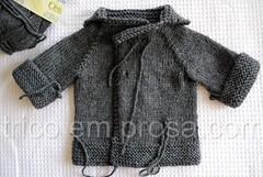 Casaquinho Beb Comportado (Valeria Ferreira Garcia) Tags: baby sweater beb cardigan seamless casaco suter semcostura cardig
