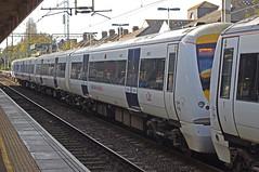 RD10451.  c2c 357 042 at Southend Central. (Ron Fisher) Tags: uk greatbritain england pentax unitedkingdom rail railway gb southend c2c southendonsea pentaxkx class357 ltsr southendcentral ltsline