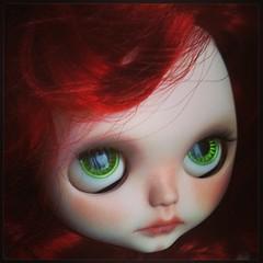 Ginger #blythedoll #blythecustom #bigeyesdoll #socalledblythe