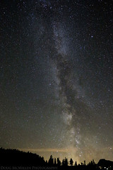 North Cascades Milky Way (mcmillend) Tags: night stars milkyway mountbakersnoqualmienationalforest september2014