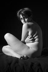 DSC_2343_bn (claudiachec) Tags: woman nude nudo artistico femminile