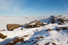Kinder Egde (RD400e) Tags: winter mist snow fog canon walking eos is derbyshire kinder edge mk2 5d usm ef peakdistrictnationalpark f4l 24105mm