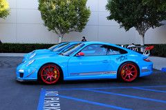 3 Porsches (dylancook44) Tags: blue cars coffee gold gulf teal rally wheels 911 wing newport porsche rush colored lip laguna rims irvine 944 gt2 gt3 918 cargramm raparmor