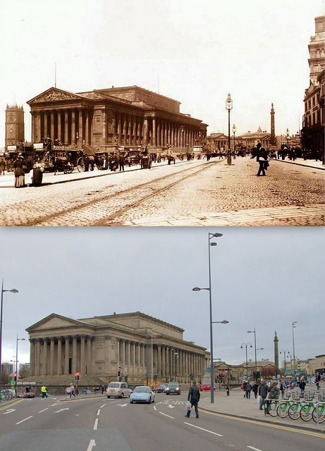 Lime Street, 1880s and 2014
