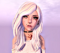 pink'ish (Mya The Undying) Tags: pink cute girl sl avatars kawaii edit windlight