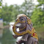 "Elephant statuette<a href=""http://www.flickr.com/photos/28211982@N07/15989749113/"" target=""_blank"">View on Flickr</a>"