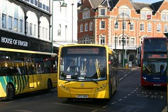 Yellow Buses 515 HF57 BKN (johnmorris13) Tags: bus alexander dennis yellowbuses enviro200 hf57bkn de515
