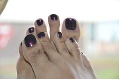OPI Muir Muir on The Wall (Inesines19) Tags: man hot sexy men guy love feet wall dark toes masculine nail tasty polish indoor nails barefoot pedicure lovely straight nailpolish muir poli toenails homme holographic varnish opi ongles pedi vernis duochrome
