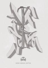 Herr Menig Optik - Graffiti (Philipp Zurmoehle) Tags: wild illustration germany graffiti glasses frames ad illustrations style german styles campaign nürnberg optician eyewear wildstyle 2014 optik herrmenig herrmenigoptik