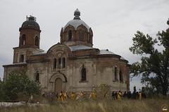 176. Первая архиерейская служба в Кармазиновке 2008 г