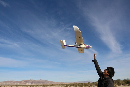 Flying Autonomous Airplanes in the Desert