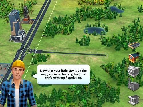 SimCity BuildIt Tutorial: screenshots, UI