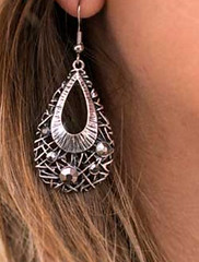 5th Avenue Silver Earrings K1 P5210A-1